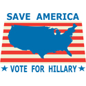 Save America Vote For Hillary