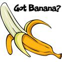Banana T-shirt, Banana T-shirts