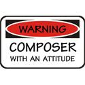Composer T-shirt, Composer T-shirts