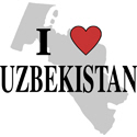 I Love Uzbekistan Merchandise