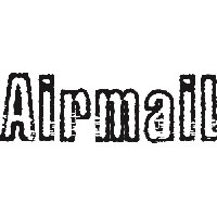 Airmail * hit a shot much farther than planned