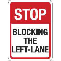 Stop Blocking the Left-Lane
