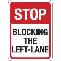 Stop Blocking the Left-Lane