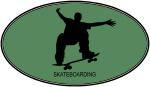 Skateboarding (euro-green)