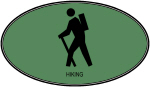 Hiking (euro-green)