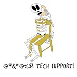 Down with tech support