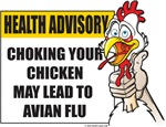 Choking Chicken Bird Flu