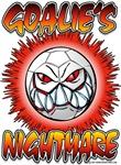 Goalie's Nightmare Soccer Ball