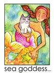 MERMAID AND CAT FISH No. 4