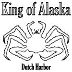 King of Alaska-black outline