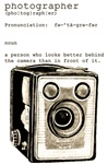 Definition and vintage camera