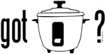 got rice? (cooker symbol)