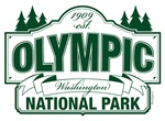 Olympic National Park Green Sign Design