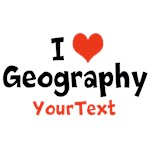 Personalize I Heart Geography