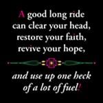 A Good Long Ride