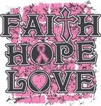Breast Cancer Faith Hope Love Shirts