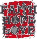 Brain Cancer Faith Hope Love Shirts