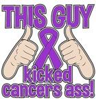 Leiomyosarcoma This Guy Kicked Cancer Shirts