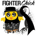 Carcinoid Cancer Fighter Chick Shirts