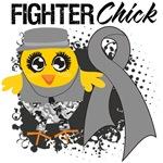Brain Tumor Fighter Chick Shirts