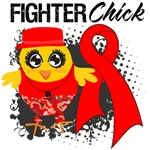 Blood Cancer Fighter Chick Shirts