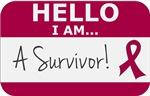 Multiple Myeloma Hello I'm A Survivor Shirts