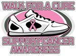 Breast Cancer Walk For A Cure Shirts