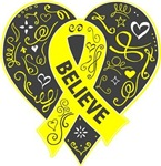 Osteosarcoma Believe Shirts