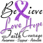 Fibromyalgia Believe Shirts