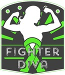 Lymphoma Fighter Diva Shirts