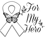 Lung Cancer For My Hero Shirts