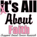 Faith Breast Cancer T-Shirts & Gifts