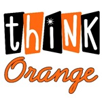 Think Orange For Leukemia T-Shirts