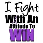 I Fight To Win Purple Ribbon T-Shirts & Gifts