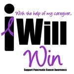 I Will Win Pancreatic Cancer (Caregiver) T-Shirts