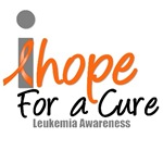 I Hope For A Cure Leukemia T-Shirts & Gifts