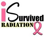 I Survived Radiation Breast Cancer T-Shirt