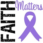 Faith Matters Pancreatic Cancer T-Shirts & Gifts