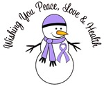 Christmas Snowman General Cancer Cards & Gifts