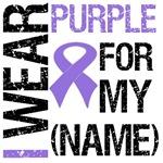 I Wear Purple Ribbon Shirts & Gifts