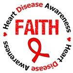 Heart Disease Awareness FAITH Shirts & Gifts