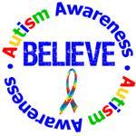 Autism Believe Awareness Shirts & Gifts