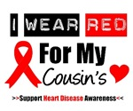 I Wear Red Cousin Heart Disease Shirts & Gifts