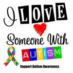 I Love Someone With Autism Awareness Shirts