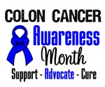 Colon Cancer Awareness Month Tees & Shirts