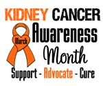 Kidney Cancer Awareness Month Tees & Shirts