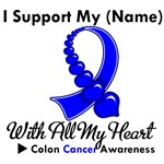 I Support My Relative/Friend Colon Cancer Shirts