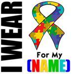 I Wear Autism Ribbon Shirts & Gifts