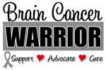 Brain Cancer Warrior Tee Shirts & Gifts