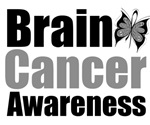 Brain Cancer Butterfly Tee Shirts & Gifts